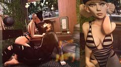 Don't Leave Me in the Dark. (Sweetvandel Resident) Tags: blog post leluck kunst muggleborn body suit cute love cutie adorable couple secondlife sl ykon rebel gal pose loving nice kisses