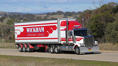 Jerrawa Power (1/8) (Jungle Jack Movements (ferroequinologist)) Tags: wickam freightlines karras mccabe meat movers volvo western star scania jerrawa yass nsw new south wales australia hume highway capricorn dancer kenworth bricks damorange werribbe mason vegetables rodneys wagga sterling about time hp horsepower big rig haul haulage freight cabover trucker drive transport carry delivery bulk lorry hgv wagon road nose semi trailer deliver cargo interstate articulated vehicle freighter ship motor engine power teamster truck tractor prime mover diesel cab cabin loud wheel tipper