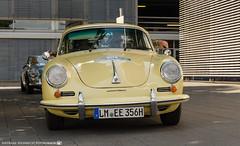 1964 Porsche 356 SC. (andreasheinrich) Tags: heidelberghistoric oldtimerrally historiccar porscheag porsche356 germany badenwürttemberg neckarsulm july deutschland historischesfahrzeug nikond7000