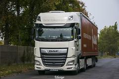 DAF XF106 II SSC | Tkaczykowski (PL) (Wawrzyn) Tags: tkaczykowski daf polift poland photography truck trucks truckspotting spot fabric white firanka