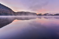 Good morning (NUNZG) Tags: tremblant nation park autumn nature reflection sunrise sunset landscape light frost trees