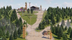 It's a Rollercoaster? It's a Zipline? No it's a new breed of ride: The #Rollercoaster #Zipline #zipcoaster http://bit.ly/2nmWeD2 (Skywalker Adventure Builders) Tags: high ropes course zipline zipwire construction design klimpark klimbos hochseilgarten waldseilpark skywalker