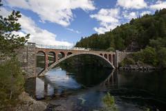 Old bridge in Norway