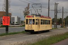 9994 te P&R Luchtbal (vos.nathan) Tags: vlatram vlaams tram en autobusmuseum antwerpse antwerpen 9994 pr luchtbal