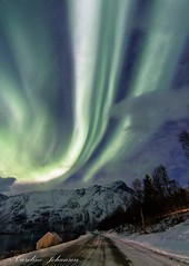 Aurora Borealis North Norway (ullsfjordibilder) Tags: auroraborealis nordlys northernlights nightphotography norway