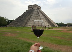 México is always a good idea... (juanvicenteacevedorueda) Tags: mexico memories wine chichenitza yucatan