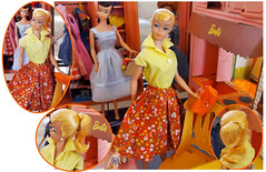 NEW SWIRL! (ModBarbieLover) Tags: swirl ponytail barbie doll vintage 1964 lemon blonde country fair dream house mattel fashion