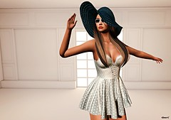 Chic (kare Karas) Tags: woman lady femme girl girly sweet cute beauty chic mesh bento events virtual avatar secondlife game fun fashion style sensual sexy summer designershowcaseevent liziaah haysuriza august