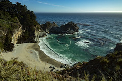 McWay Falls (chiara.mariani.logo) Tags: california bigsur mcwayfalls cascate panorama lanscape ocean