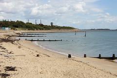 Dovercourt Bay (Neil Pulling) Tags: countyofessex essex dovercourt northsea seaside coast eastcoast groyne