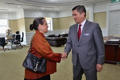Ambassador Kamala Lakhdhir meet  Minister of Economic Affairs Dato' Seri Mohamad Azmin Ali (United States Embassy Kuala Lumpur) Tags: ambassador kamala lakhdhir meet minister economic affairs dato seri mohamad azmin ali