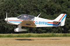 G-BYFM (QSY on-route) Tags: gbyfm old timer fly drive in 2018 schaffen diest ebdt 12082018
