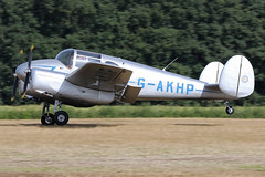 G-AKHP (QSY on-route) Tags: gakhp old timer fly drive in 2018 schaffen diest ebdt 12082018