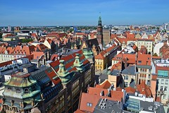 roofs of Wrocław :) (green_lover (your COMMENTS are welcome!)) Tags: roofs wrocław poland city oldtown houses buildings architecture fromabove cityscape friendlychallenges