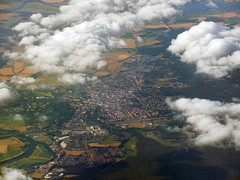 Rathenow (Beardy Vulcan II) Tags: summer sommer july juli 2018 rathenow aerial town cloud havelland brandenburg germany antenne stadtdorf wolke deutschland