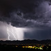 1809 Lightning over the Tucson Mountains 01