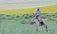 Herder Mongolian Lasso DSC_0460 (JKIESECKER) Tags: herders horses lasso mongolia easternsteppe easternmongolia grasslands asia centralasia peopleandnature people peopleportraits
