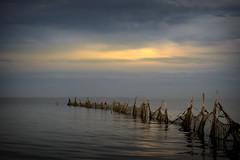 chill (BasHandels) Tags: mood sunset water sea northsea wadden waddenze texel zon sky sunrise dusk dawn