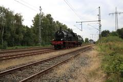BR 78 te Papenburg (vos.nathan) Tags: v160 002 mietlok pruisische t18 westfalendampf deutsche bundesbahn br 78 baureihe 468 eisenbahntradition lengerich papenburg