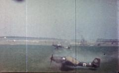 Ju 87 Praha Kakowice Poland 16-04-1945 gun camera JEC 05022 (ww2color.com) Tags: junkers ju87 stuka luftwaffe guncamera
