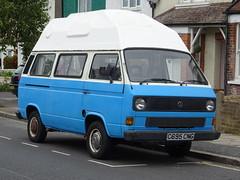 1986 Volkswagen Transporter Camper Van (Neil's classics) Tags: vehicle 1986 volkswagen transporter camper van vw t3 t25 camping motorhome autosleeper motorcaravan rv caravanette kombi mobilehome dormobile