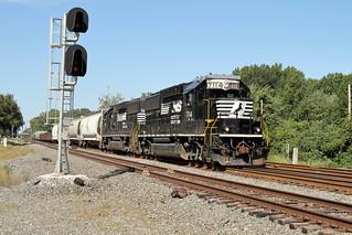 NS 7114 east in Porter, Indiana on September 4, 2018.