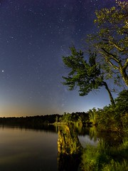 Alone in the Dark (mangospoops) Tags: alone astrophotography car landscape milkyway nature nightphotography outdoors pennsylvania people person pocono scenery scenic sky stars