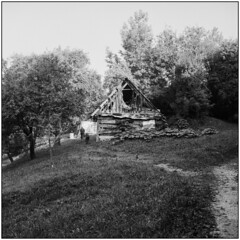 Rural Degradation (Koprek) Tags: rolleiflex28f planar croatia zagorska sela desinić rural film analog fomapan 100 6x6 120 degradtion summer 2018