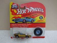 Hot Wheels 25th Anniversary Redline Silhouette Metallic Gold  Mint & Carded (beetle2001cybergreen) Tags: hot wheels 25th anniversary redline silhouette metallic gold mint carded