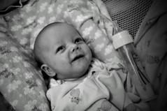 Smile (Bets<3 Fine Artist ~Picturing Light ~ Blessings ~~) Tags: newhampshire infant granddaughter portrait