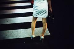"""Legs II"" (jaxting) Tags: 135 e6 e58 alacarte leicamp jaxting legs street 東京 tokyo candid provia400x reversalfilm filmisnotdead istillshootfilm noctilux leica"