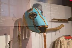 Beaded horse mask (quinet) Tags: 2017 aborigène canada firstnations indian kunst ontario rom royalontariomuseum toronto ureinwohner aboriginal art museum musée native 124