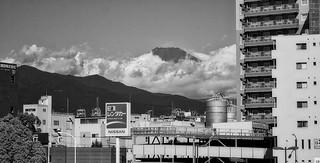 Mount Fuji from Mishima