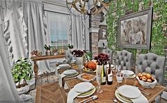 Family Dinner (Frankie Jade Designs) Tags: dust bunny floorplan bazar lisp second life avatar dustbunny theloft ariskea