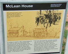 Mclean house sign (Steve4343) Tags: steve4343 nikon 7200 end civil war mclean house appomattox virginia general robert e lee ulysses s grant