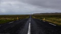 The road less travelled (katrin glaesmann) Tags: iceland unterwegsmiticelandtours photographyholidaywithicelandtours mountains clouds street snæfellsnes malarrif lóndrangar