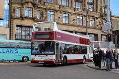Lothian 219 XIL1481 (busmanscotland) Tags: lothian 219 xil1481 xil 1481 w632psx w632 psx dennis trident plaxton president coaches motorcoaches east coast buses tours