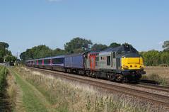 37611 31-08-18 (IanL2) Tags: railoperationsgroup class37 37611 pegasus uffington lincolnshire englishelectric railways trains