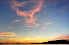 2018-09-01 Sunset (01) (2048x1360) (-jon) Tags: anacortes skagitcounty skagit washingtonstate washington salishsea fidalgoisland sanjuanislands pugetsound pnw pacificnorthwest guemeschannel portofanacortes curtiswharf waterfront sky sunset summer cloud clouds a266122photographyproduction cirrus explore september012018