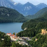 The Hohenschwangau Castle and the Alpsee. thumbnail