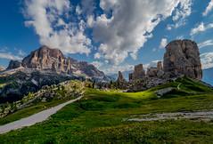 Cinque Torri #21 (andertho) Tags: backroads italy italia dolomites dolomiti mountains alps microfourthirds m43 olympus omd em1ii