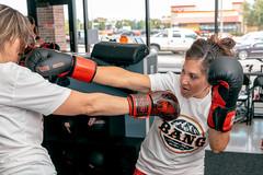 Contact (Daniel Medley) Tags: bang muay thai kmr self defense martial arts women gym sport fighting camera flash nikon d750 24120mm f4g krav maga boxing