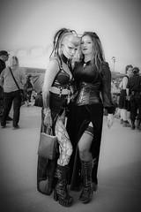 MeraLuna_2018 (108) (uwesacher) Tags: sw bw paar niedersachsen mèraluna wolken sonne flughafen hildesheim 2018 luna mera himmel personen porträt gothic black metal gruppenbild x100s fuji fujinon