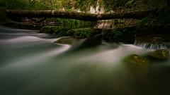 Wasser im Fluss (Jensens PhotoGraphy) Tags: dlsr moos wasserfall canon deutschland langzeitbelichtung schwäbischealb grün steine unterschmeien badenwürttemberg wasser landschaft fluss bach schmeie