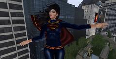 SuperFem! 5 (LorenWinstead In SL) Tags: femboy superhero superwoman superman superboy kryptonian alien hero crossdresser crossdressing feminine