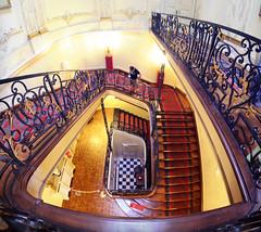 Palais des Princes Évêques / Liège (jlnljnphotography) Tags: staircase spiralstaircase liege interior architecture palaisdesprinceseveques