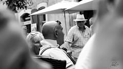 2 (Tiebell@) Tags: antibes bnw monochroom people street france streetphotography fuji