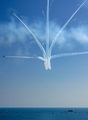 DSC09584 (Brian Wadie Photographer) Tags: breitling ravens vampires kestrel mig15 parachutes polariser redarrows wingwalkers