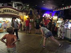 Hitting the Piñata (BunnyHugger) Tags: casabonita colorado denver mexican piñata restaurant