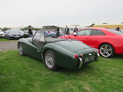 Triumph TR3 SWU470 (Andrew 2.8i) Tags: haynes motor museum breakfast meet sparkford yeovil somerset show classic classics cars car autos british sports sportscar open cabriolet convertible roadster tr tr3 triumph